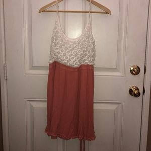 Forever 21 Dresses - Pink and White dress